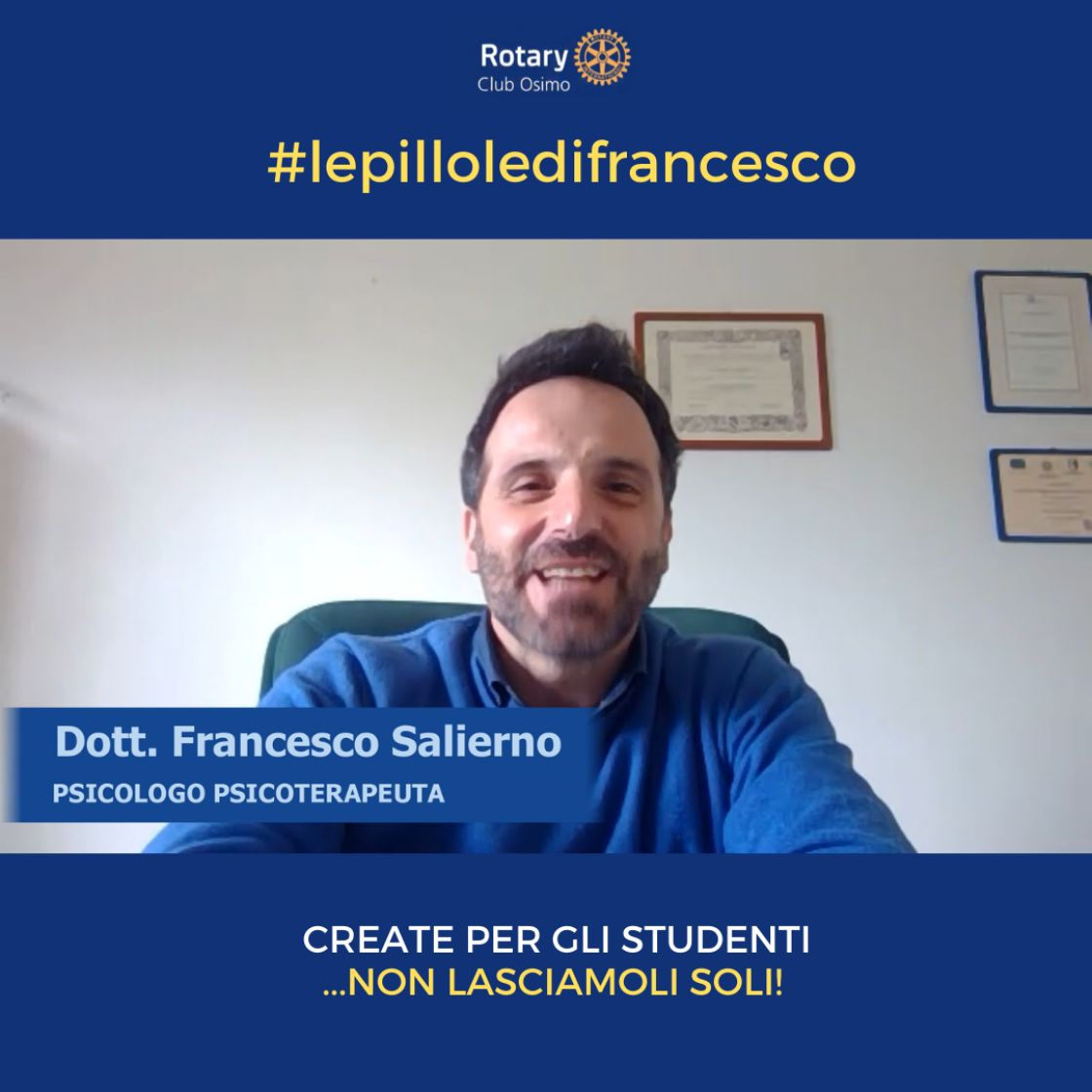 """Le pillole di Francesco"""