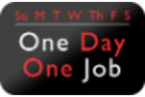 ONE DAY ONE JOB